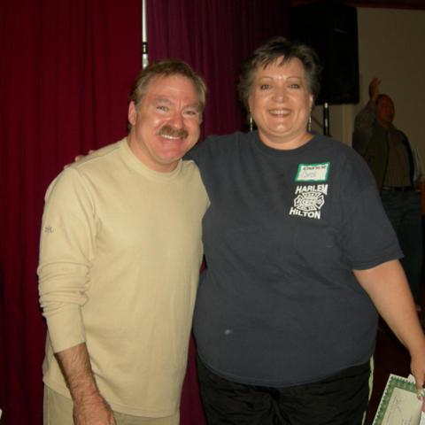 Me with James Van Praagh